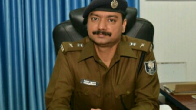 Muzaffarpur SSP Vivek Kumar was suspended after the government received several complaints of corruption against him