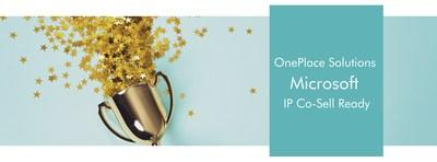 OnePlace Solutions have today announced they have achieved Microsoft IP Co-Sell status