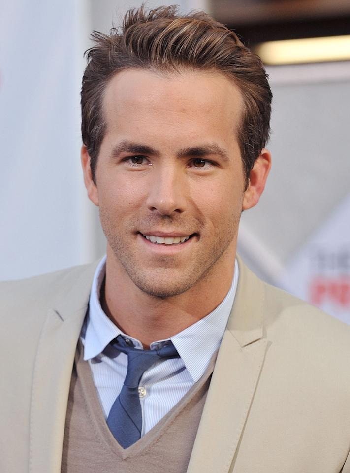 "<a href=""http://movies.yahoo.com/movie/contributor/1800025139"">Ryan Reynolds</a> at the Los Angeles premiere of <a href=""http://movies.yahoo.com/movie/1810012112/info"">The Proposal</a> - 06/01/2009"