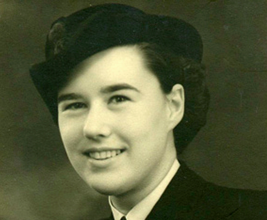 <em>Mrs Robins taught herself German and Morse Code and eavesdropped on messages from U-boats during WWII (SWNS)</em>