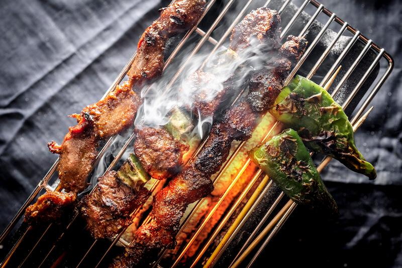 Skewers. Photo: 51 Soho