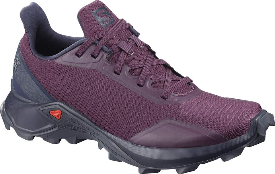 """<h3>Salomon Women's Alphacross Trail Running Shoe</h3> <br>As outlined in this <a href=""""https://www.rei.com/learn/expert-advice/hiking-boots-vs-trail-runners-the-great-debate.html"""" rel=""""nofollow noopener"""" target=""""_blank"""" data-ylk=""""slk:handy-dandy guide"""" class=""""link rapid-noclick-resp"""">handy-dandy guide</a>, the debate between trail runners and hiking boots is one for the ages. A good rule of thumb? Sneakers will keep your feet cooler during summer hikes, but if you're on an advanced trail with mixed terrain, be sure to find a shoe that will provide the traction you need.<br><br><strong>Salomon</strong> Women's Alphacross W Trail Running Shoe, $, available at <a href=""""https://amzn.to/2BdUjey"""" rel=""""nofollow noopener"""" target=""""_blank"""" data-ylk=""""slk:Amazon"""" class=""""link rapid-noclick-resp"""">Amazon</a><br>"""