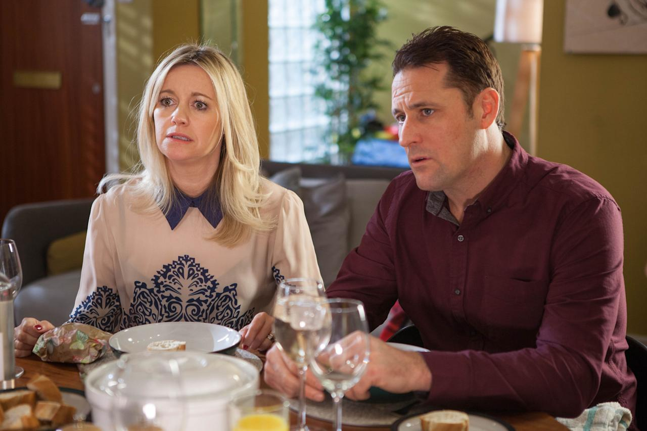 <p>Knowing that Lily suspects she once had an affair with Scott's dad, Diane fears that Lynette's arrival could be connected.</p>