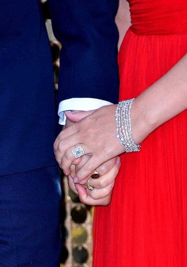 Kylie loves what her wedding ring represents. Source: Getty