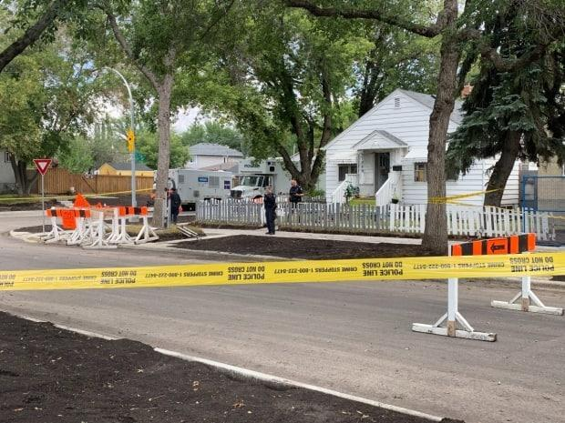 Police are investigating a suspicious death Tuesday that occurred in the Eastwood neighbourhood of north central Edmonton. (Craig Ryan/CBC - image credit)