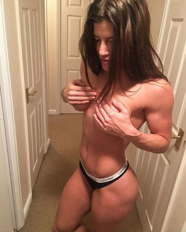 Jenny West, 31, is a fitness model, who says she can't wait to show off her strength in South Africa. Source: jennywest/Instagram