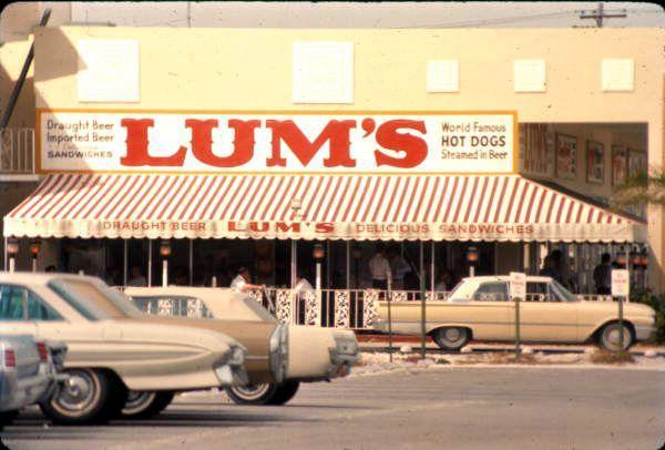 """<p>Hot dogs steamed in beer? Sound divine. That's why it was sad when Miami-based Lum's had to file for bankruptcy and close permanently in 1983. Since it doesn't like it's coming back for round two any time soon, we recommend you try our <a href=""""https://www.delish.com/cooking/recipe-ideas/recipes/a54417/pretzel-dog-beer-cheese-dip-recipe/"""" rel=""""nofollow noopener"""" target=""""_blank"""" data-ylk=""""slk:pretzel dog beer cheese dip"""" class=""""link rapid-noclick-resp"""">pretzel dog beer cheese dip</a> ASAP. </p>"""