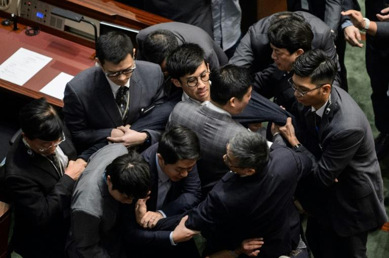The crackdown on independence campaigners has seen activists barred from standing for office and ejected from Hong Kong's partially elected legislature