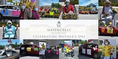 The Mother's Day Car Parade was a spectacular success at Watercrest St. Lucie West Assisted Living and Memory Care in St. Lucie, Fl. Over 40 decorated vehicles cruised by the residents as family and friends shared their messages of love and well wishes for Mother's Day.