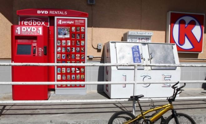 RedBox DVD rental kiosks like this one may soon be a thing of the past, as the company enters the market for online video streaming