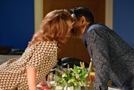 <p>After being set up by Denise, Masood admits he's having doubts over his travelling plans. Carmel reminds him that they still have time to make something of their relationship and Denise and Patrick come back to find them kissing. </p>