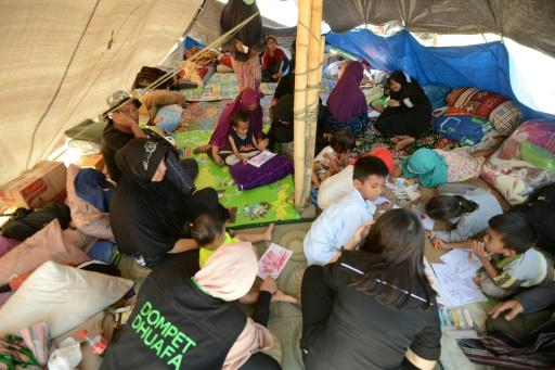 The governor of West Nusa Tenggara province said there was a dire need for medical staff, food and medicine in the worst-hit areas