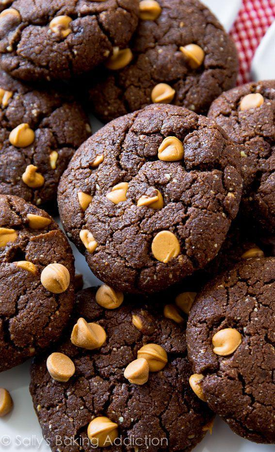 """<p>This year, we actually might be sticking to our diets.</p><p>Get the recipe from <a href=""""http://sallysbakingaddiction.com/2014/06/06/flourless-peanut-butter-brownie-cookies/"""" rel=""""nofollow noopener"""" target=""""_blank"""" data-ylk=""""slk:Sally's Baking Addiction"""" class=""""link rapid-noclick-resp"""">Sally's Baking Addiction</a>.</p>"""