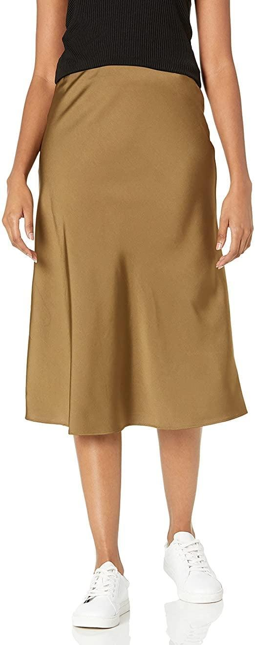 <p>I've been wanting to try the slip-skirt trend for a long time but never picked up one of my own. Thanks to Prime's Try Before You Buy program, I can test out this <span>The Drop Women's Maya Silky Slip Skirt</span> ($45) before I commit to it. If I love it - which I have a feeling I will - I can pair this skirt with chunky sweaters or my turtleneck bodysuit.</p>