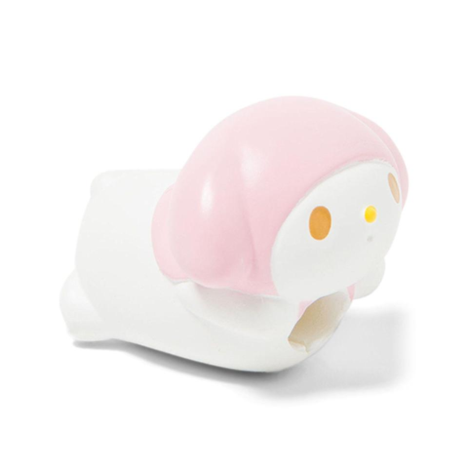 "<p><strong>Sanrio</strong></p><p>sanrio.com</p><p><strong>$7.50</strong></p><p><a href=""https://www.sanrio.com/collections/technology/products/my-melody-mascot-cable-bite"" rel=""nofollow noopener"" target=""_blank"" data-ylk=""slk:Shop Now"" class=""link rapid-noclick-resp"">Shop Now</a></p><p>You're gonna need something to protect your cords. Might as well have it be SO STINKIN' CUTE!</p>"
