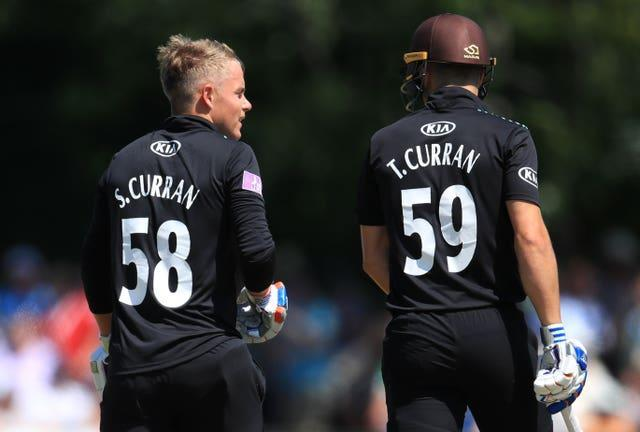 Surrey's Sam Curran and his brother Tom Curran have both played for England