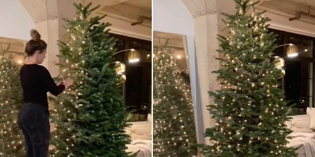 Antigua Christmas Eve Events 2021 Parties Apparently You Should Be Stringing Lights On Your Christmas Tree Vertically Not Wrapping Them Around