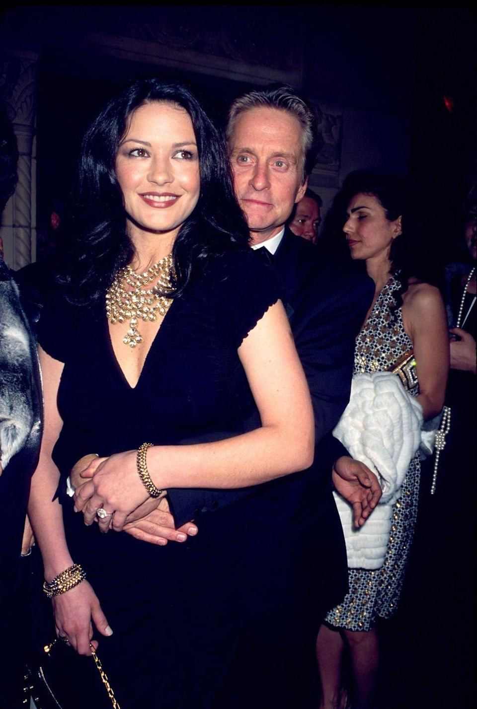 <p>Zeta-Jones and Douglas have been married since 2000 and have a daughter and a son.</p>