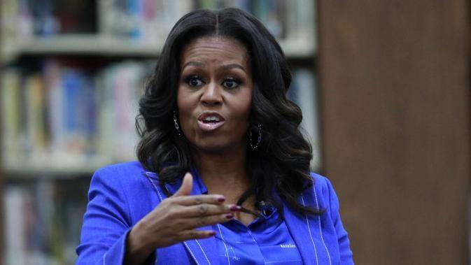 Michelle Obama. (JIM YOUNG / AFP/Asnida Riani)