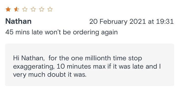 Alice Cheung, 50, has won admiration for her honest and hilarious rebuttals to negative customer reviews. (SWNS)
