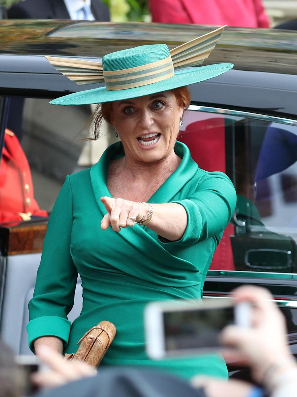 <p>When Sarah Ferguson rolled into the chapel to make all of Prince Philip's nightmares come true. </p>