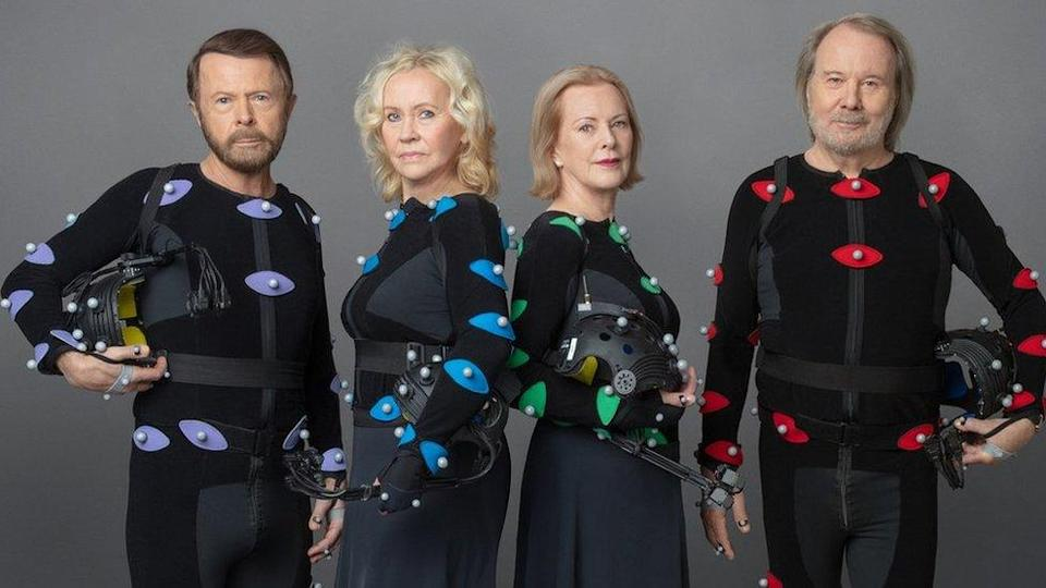 Abba in motion capture suits