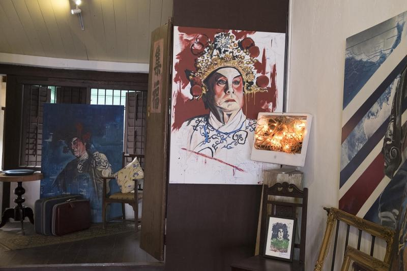 The exhibits at Thomas Powell's gallery at 13 Armenian Street. — Picture by Steven Ooi K.E. and Sayuti Zainudin