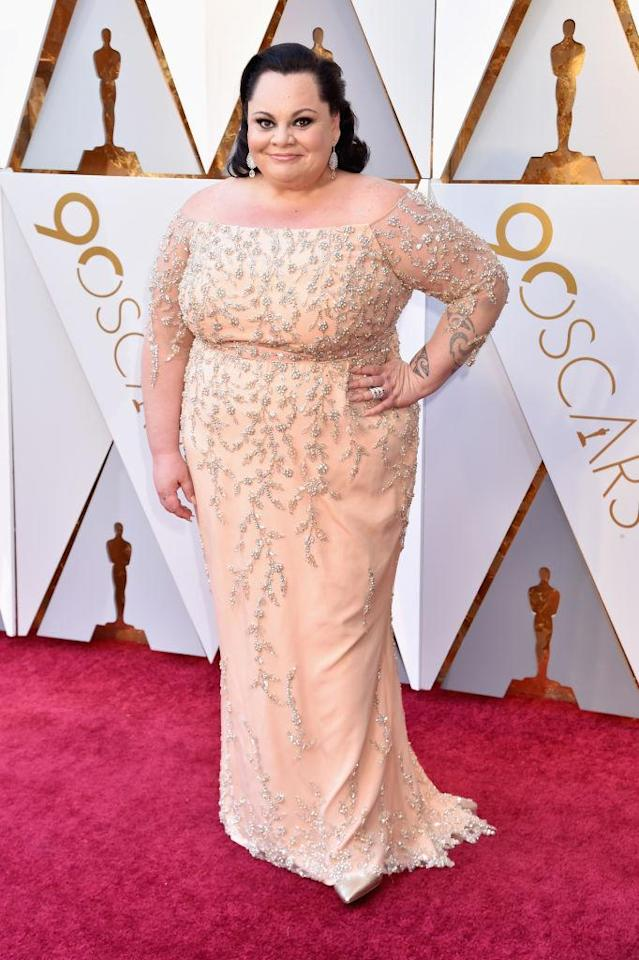 <p>Keala Settle attends the 90th Academy Awards in Hollywood, Calif., March 4, 2018. (Photo: Getty Images) </p>
