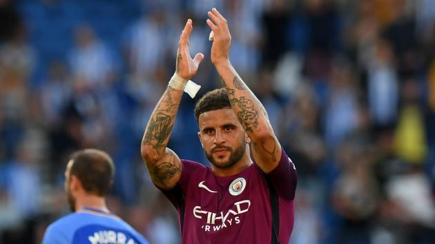 Manchester City's Kyle Walker aims dig at Tottenham boss Mauricio Pochettino