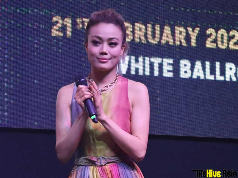 Joey Yung last month visited Malaysia for a press conference for her Genting concert.