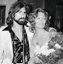 <p>Faye Dunaway, who received an Oscar nomination for her role in 1967's <em>Bonnie and Clyde</em>, married musician-composer Peter Wolf, the lead singer of the J. Geils Band, in Beverly Hills Municipal court on August 7. They divorced in 1979. In 1980, Wolf's band produced perhaps its most famous album, <em>Love Stinks</em>.</p>