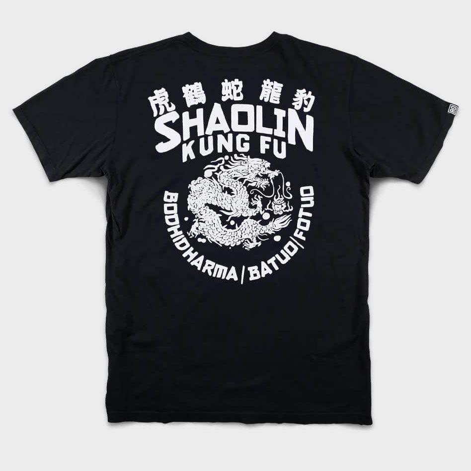 """<p><strong>Roots of Fight</strong></p><p>rootsoffight.com</p><p><strong>$48.00</strong></p><p><a href=""""https://www.rootsoffight.com/products/shaolin-kung-fu-tee"""" rel=""""nofollow noopener"""" target=""""_blank"""" data-ylk=""""slk:Shop Now"""" class=""""link rapid-noclick-resp"""">Shop Now</a></p><p>Celebrity stylist Ilaria Urbinati teamed up with her trainer, former Muay Thai champion Johnny Hunt, on a collection devoted to Shaolin Kung Fu. The look is cool. The history of the martial art is even cooler.</p>"""