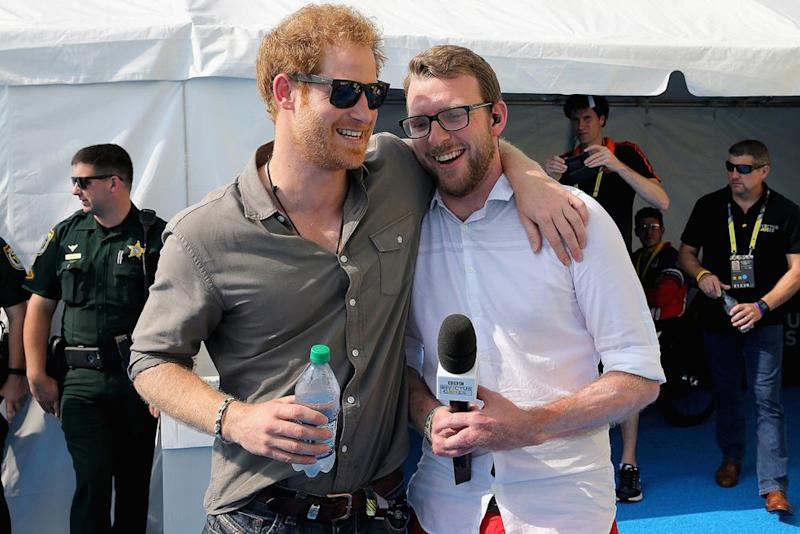 Prince Harry, JJ Chalmers | Chris Jackson - WPA Pool /Getty