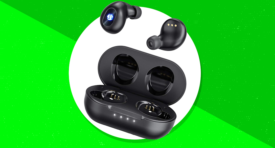 Save 38 percent—iTeknic TWS Bluetooth 5.0 Wireless Earbuds—this is the all-time lowest price ever. (Photo: Amazon)