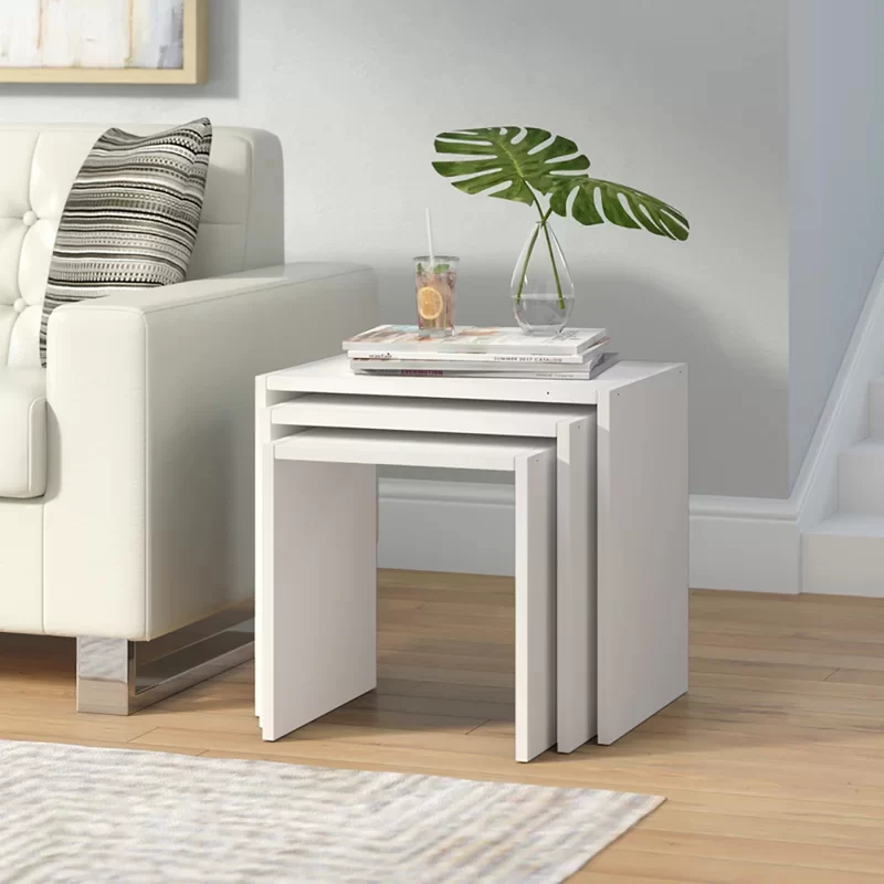 "<h3><a href=""https://www.wayfair.com/furniture/pdp/orren-ellis-runner-3-piece-nesting-tables-w000019501.html"" rel=""nofollow noopener"" target=""_blank"" data-ylk=""slk:Orren Ellis 3 Runner Piece Nesting Tables"" class=""link rapid-noclick-resp"">Orren Ellis 3 Runner Piece Nesting Tables</a></h3><br><strong>When you need (but can't sacrifice) more table space</strong>: Go the nesting-table route — this compact side-table trio is ready to open up surface area wherever you need it and stack up wherever you don't.<br><br><strong>Orren Ellis</strong> Runner 3 Piece Nesting Tables, $, available at <a href=""https://go.skimresources.com/?id=30283X879131&url=https%3A%2F%2Fwww.wayfair.com%2Ffurniture%2Fpdp%2Forren-ellis-runner-3-piece-nesting-tables-w000019501.html"" rel=""nofollow noopener"" target=""_blank"" data-ylk=""slk:Wayfair"" class=""link rapid-noclick-resp"">Wayfair</a>"