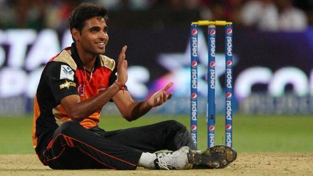 Bhuvi picked up a 5-wicket haul in IPL 2017