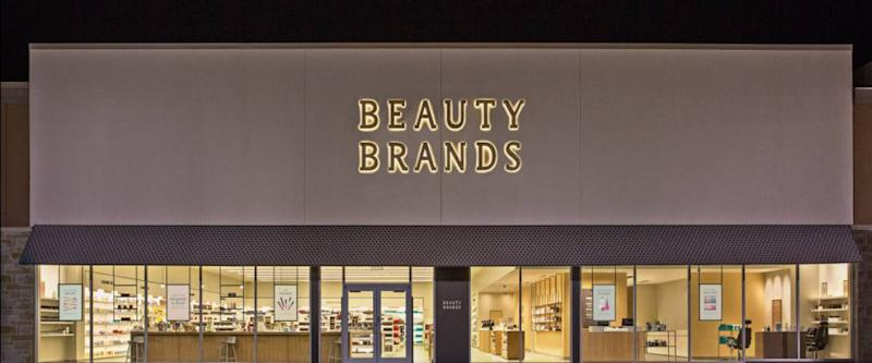 A Beauty Brands retail store. The chain was founded in Kansas City in 1995.