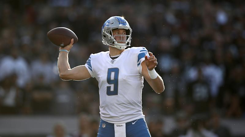 It's hard to imagine Matthew Stafford anywhere but with the Detroit Lions. (Ezra Shaw/Getty Images)