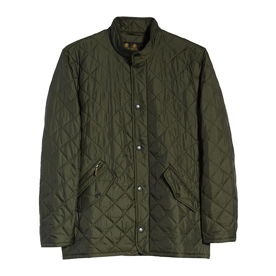 "<p><strong>BARBOUR</strong></p><p>nordstrom.com</p><p><strong>$114.90</strong></p><p><a href=""https://go.redirectingat.com?id=74968X1596630&url=https%3A%2F%2Fshop.nordstrom.com%2Fs%2Fbarbour-flyweight-chelsea-quilted-jacket%2F4829034&sref=http%3A%2F%2Fwww.menshealth.com%2Fstyle%2Fg28434508%2Fnordstrom-anniversary-sale-best-deals-mens%2F"" target=""_blank"">BUY IT HERE</a></p><p>Original price: <del>$230.00</del></p>Trust us, you'll get a lot of mileage out of this Barbour jacket come fall."
