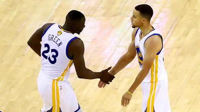 Draymond Green responds to the criticism directed towards Stephen Curry according to Marcus Thompson.