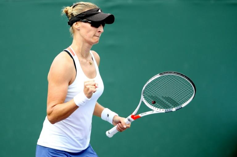 Mirjana Lucic-Baroni of Croatia is enjoying an unexpected upturn in her fortunes, powering to a 6-0, 6-3 win over Agnieszka Radwanska at the Miami Open
