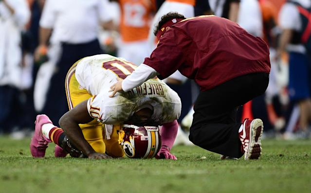 Robert Griffin III says NFL players don't like playing in Thursday games