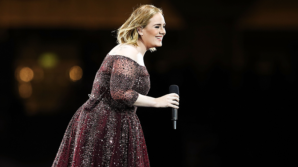Adele appears in Sydney in 2017