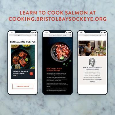The new Salmon Cooking Guide website from Bristol Bay Sockeye Salmon teaches you everything you need to know to make amazing salmon at home.