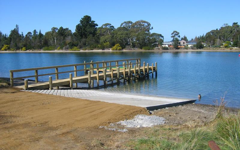 The incident happened on the Prosser River in Tasmania. Source: Marine and Safety Tasmania