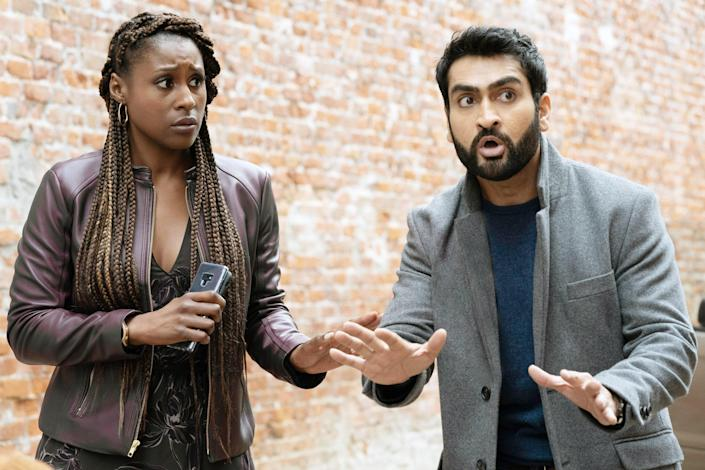 """<p>My mom and I actually recently watched <em>The Lovebirds</em> together and laughed our asses off. This movie about a couple who accidentally witnesses a murder was the perfect amount of silly, funny, but not stupid for me and my mom to really enjoy together. Plus, who doesn't love Issa Rae and Kumail Nanjiani? <em>—Emily Tannenbaum, contributor and weekend editor</em> </p> <p><a href=""""https://cna.st/affiliate-link/2Z6F81fjBAMUbaw55t2E8q41eU5eDQYHEH5vMP7s8X5gXGxyxd3zMWPNSLVfSbD6S5rxYoM8tGAYsiVuAMA5fAn3cX9y?cid=6091c0c762dbd785b24ad472"""" rel=""""nofollow noopener"""" target=""""_blank"""" data-ylk=""""slk:Stream it on Netflix"""" class=""""link rapid-noclick-resp""""><em>Stream it on Netflix</em></a></p>"""
