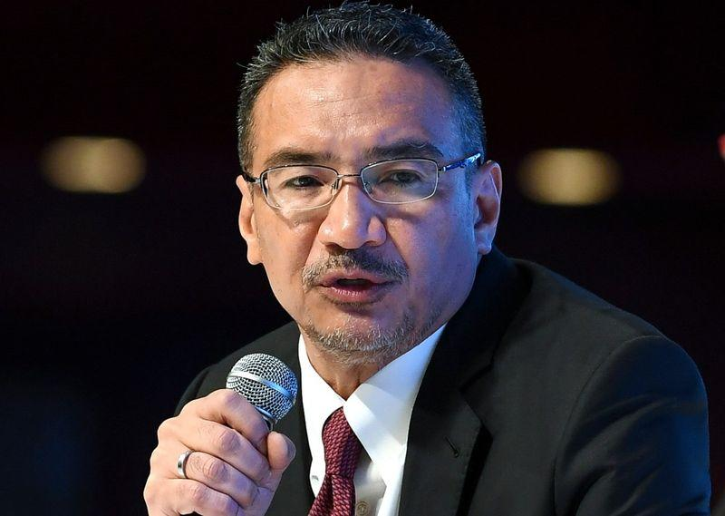 Hishammuddin said the trio have close ties with him and his family, and are currently serving him 'temporarily'. — Bernama pic