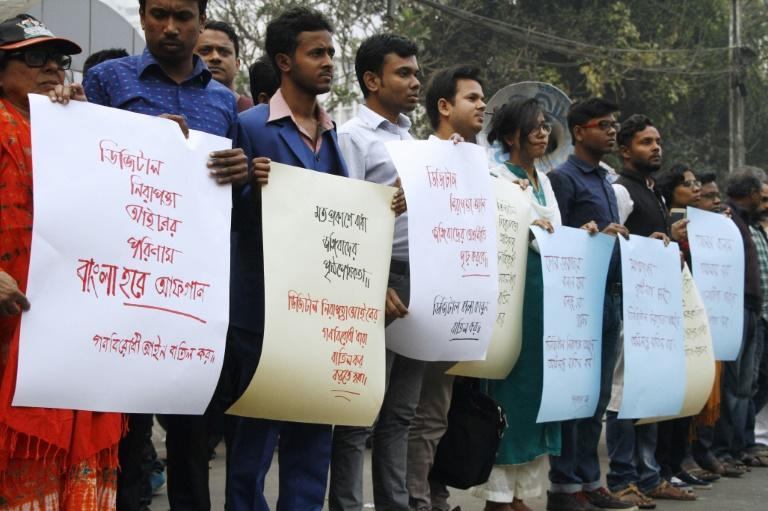 Bangladesh's new digital security laws have prompted regular protests by press freedom advocates