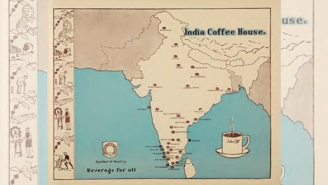 A map of Coffee Houses across the country. Image via Twitter