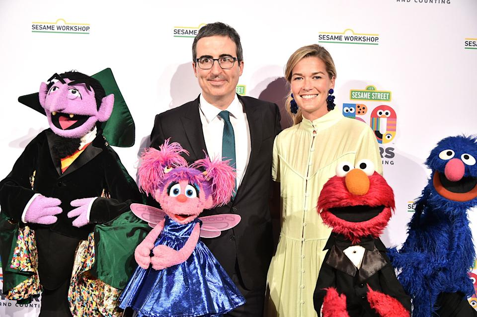 John Oliver and Kate Norley (Photo: Theo Wargo via Getty Images)